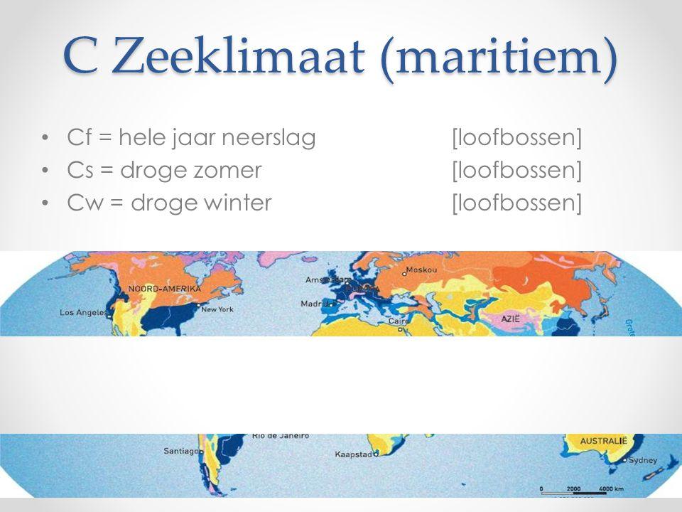 C Zeeklimaat (maritiem)