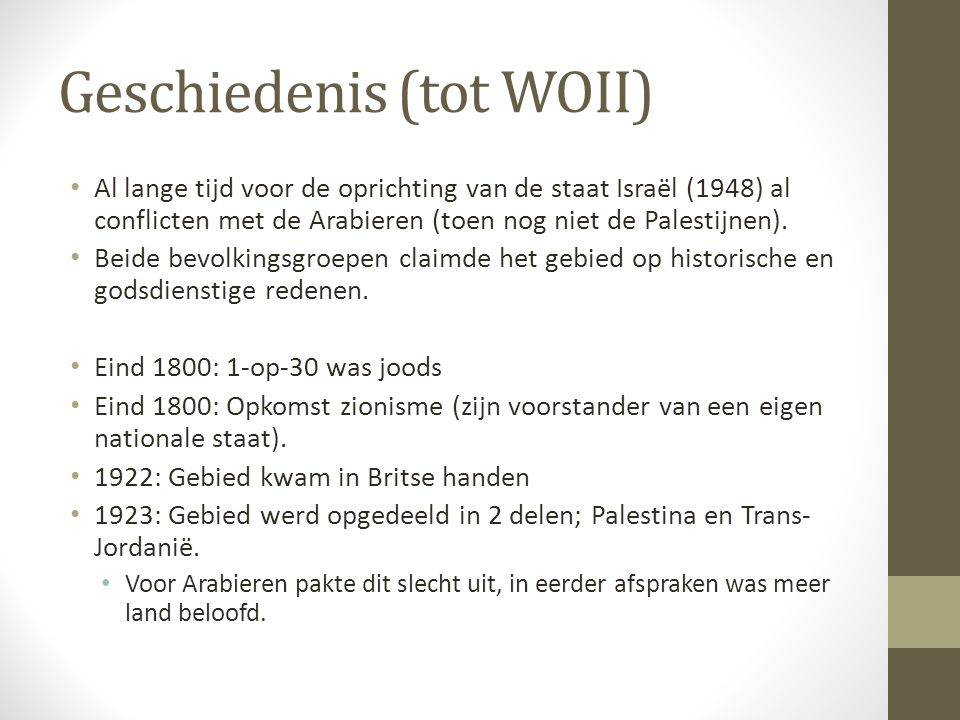P 2 2 water en land in isra l ppt video online download for Nederlands voor arabieren