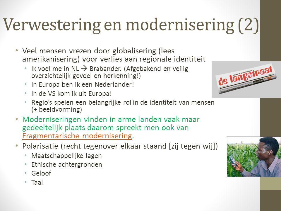 Verwestering en modernisering (2)