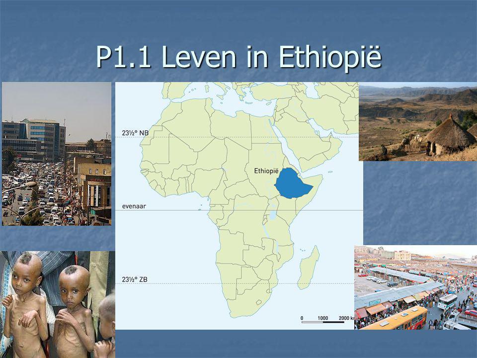 P1.1 Leven in Ethiopië