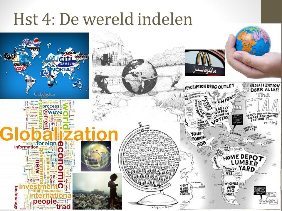 Hst 4: De wereld indelen