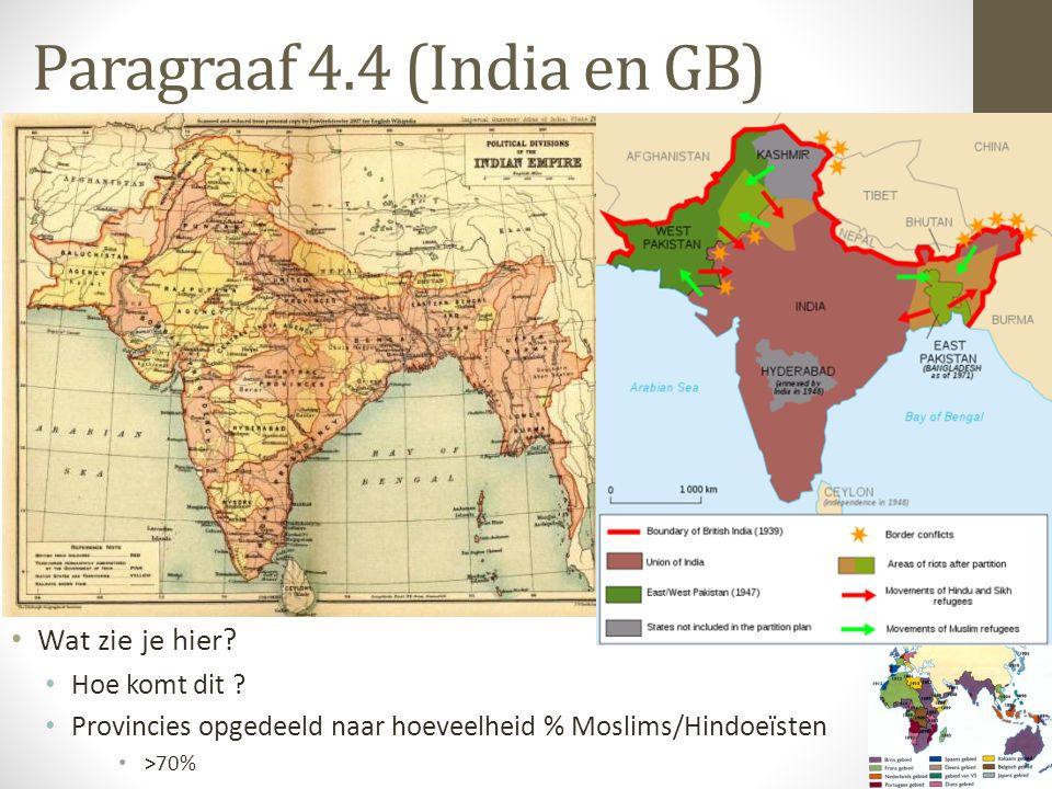 Paragraaf 4.4 (India en GB)