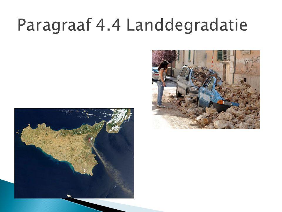 Paragraaf 4.4 Landdegradatie