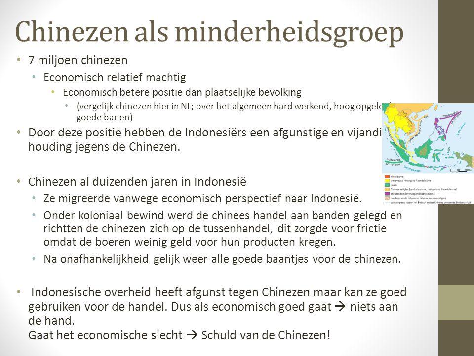 Chinezen als minderheidsgroep