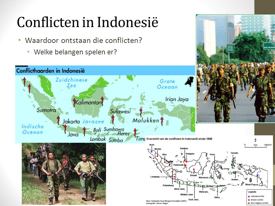 Conflicten in Indonesië