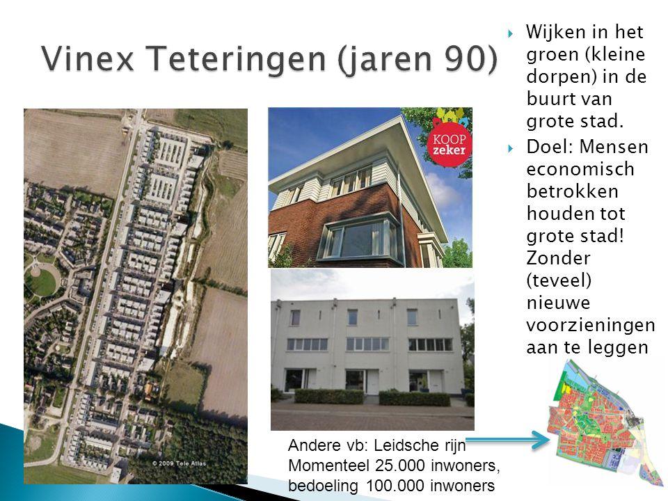 Vinex Teteringen (jaren 90)