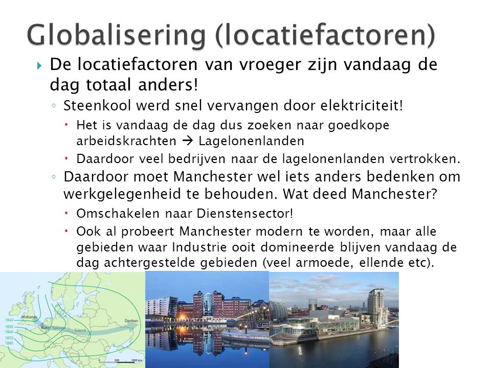 Globalisering (locatiefactoren)