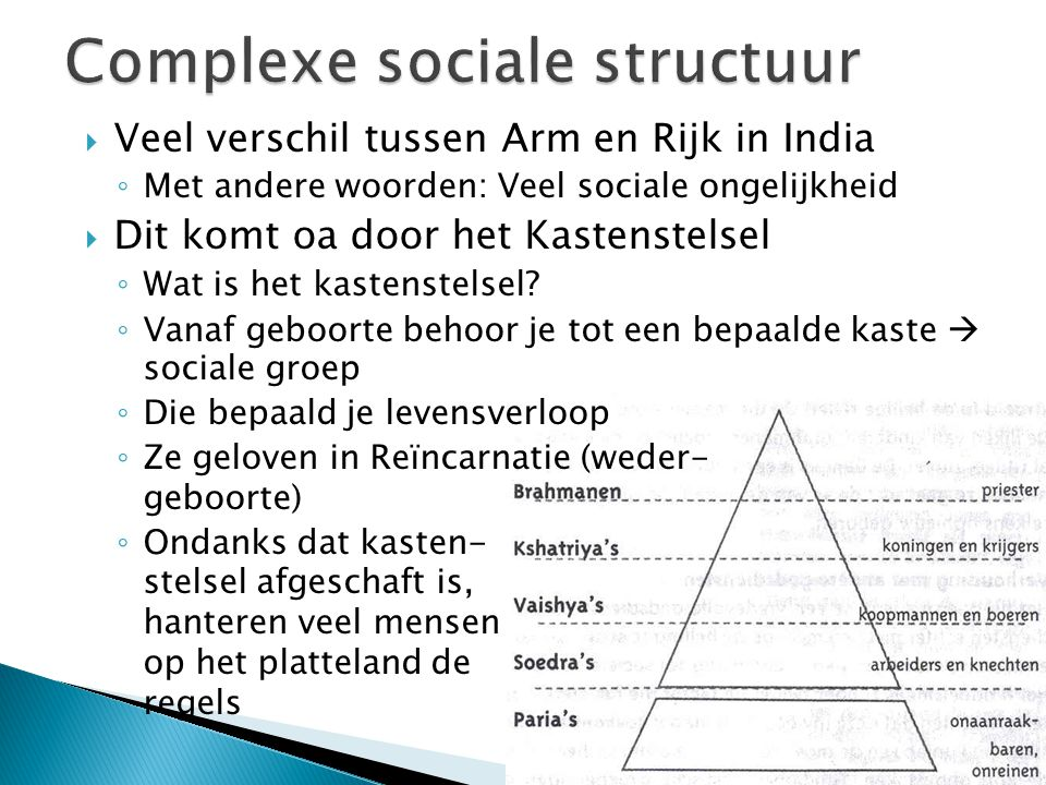 Complexe sociale structuur