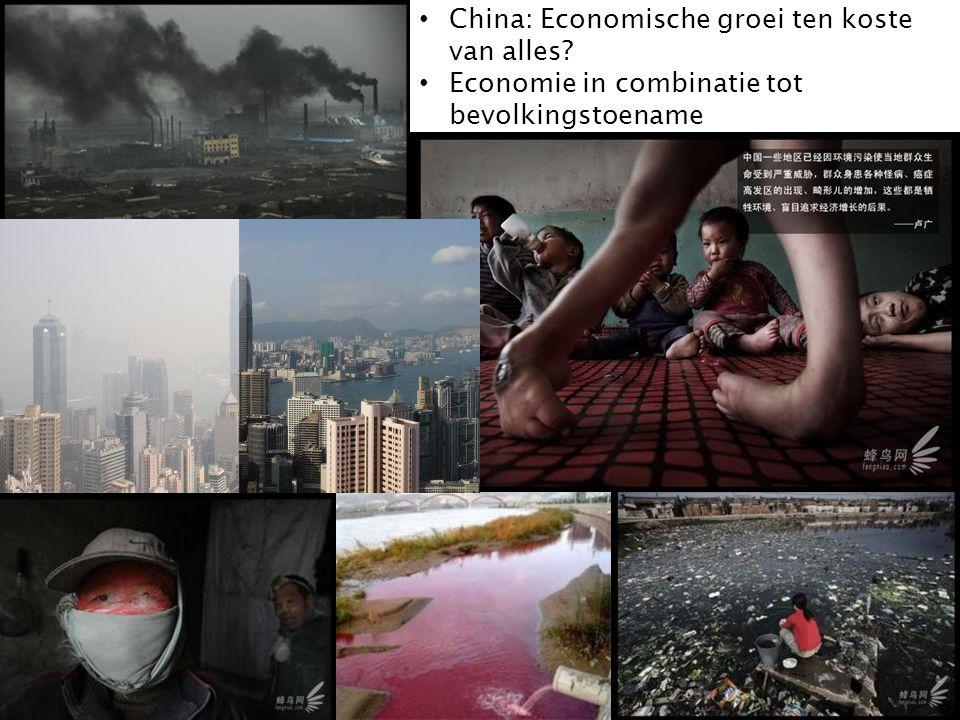 China: Economische groei ten koste van alles