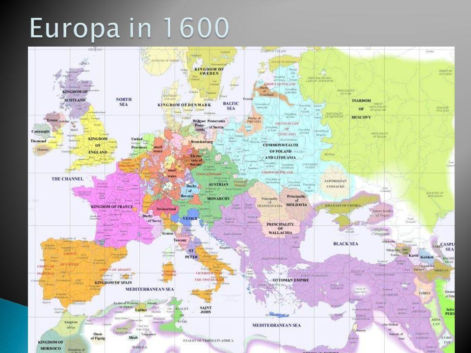 Europa in 1600