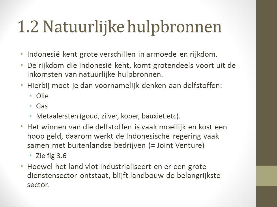 1.2 Natuurlijke hulpbronnen