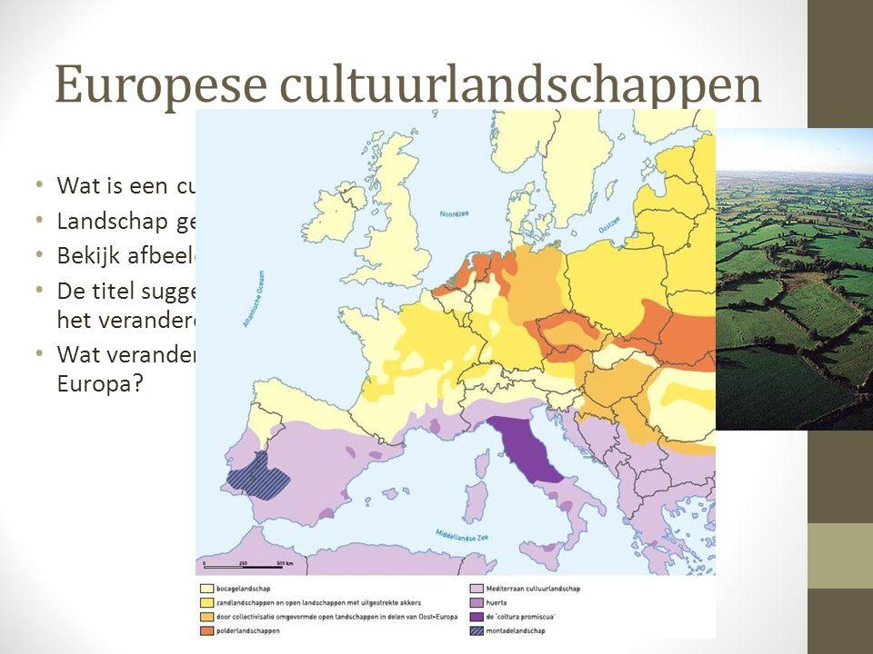 Europese cultuurlandschappen
