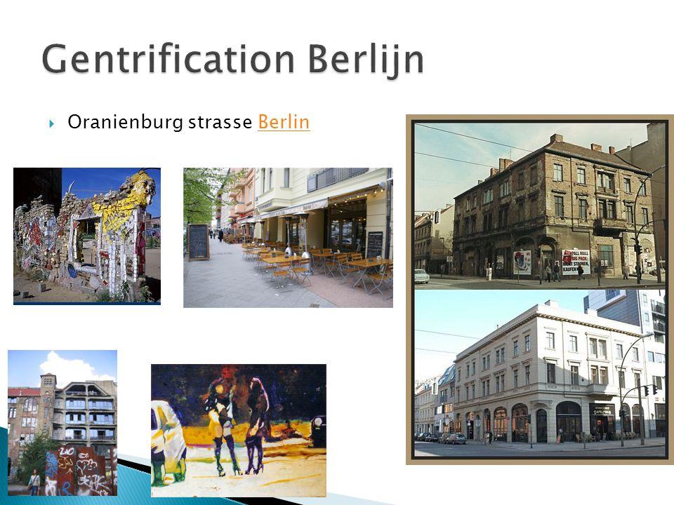 Gentrification Berlijn