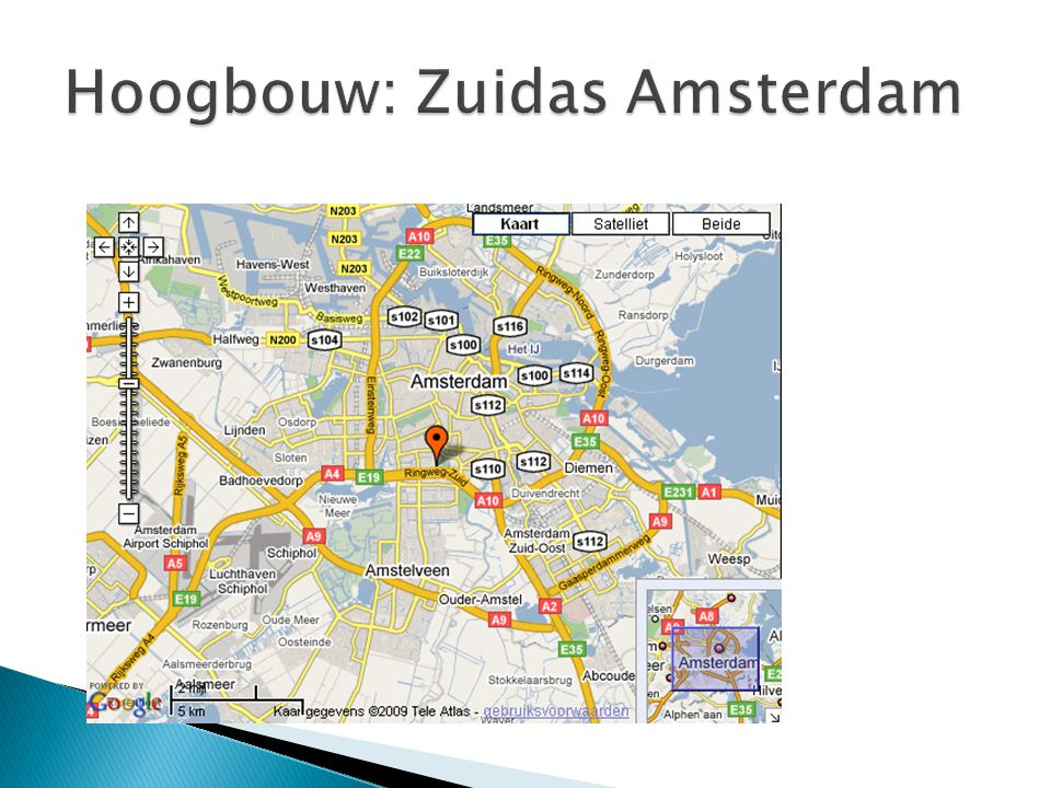 Hoogbouw: Zuidas Amsterdam