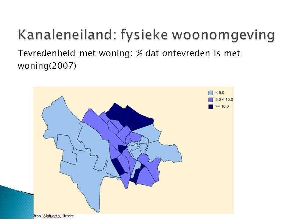 Kanaleneiland: fysieke woonomgeving
