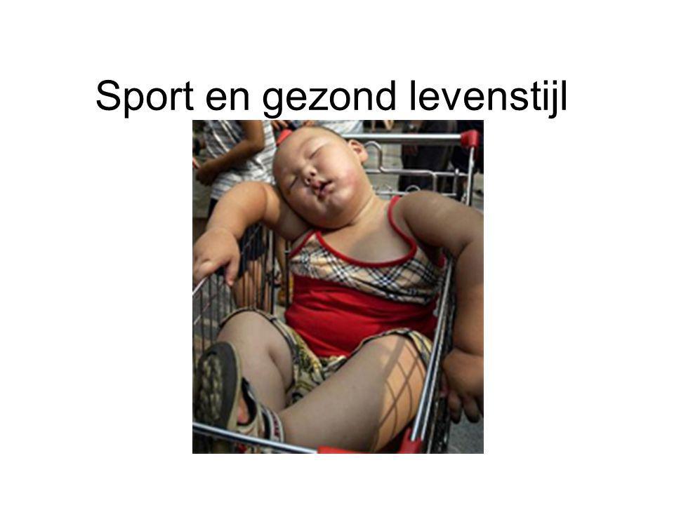 Sport en gezond levenstijl