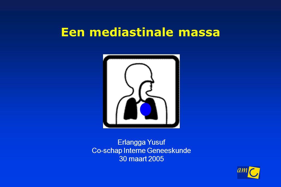 Een mediastinale massa