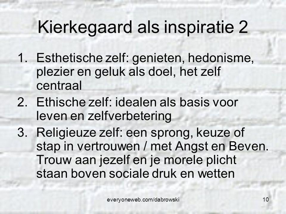 Kierkegaard als inspiratie 2