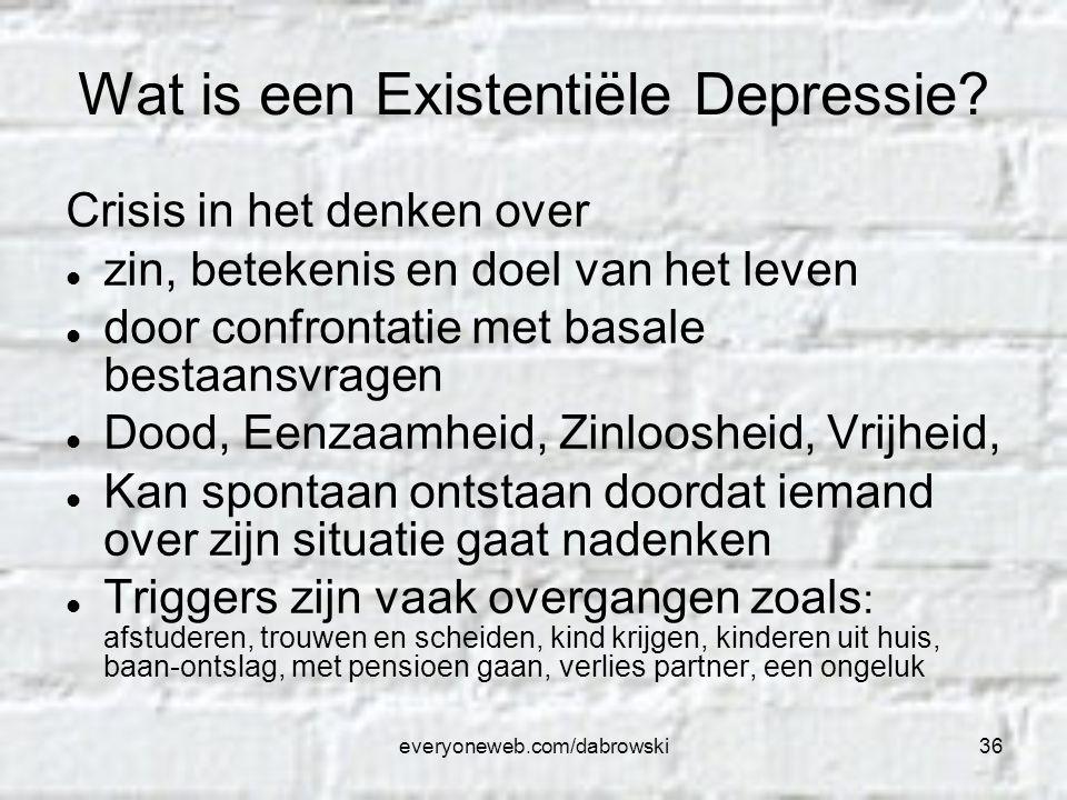 Wat is een Existentiële Depressie