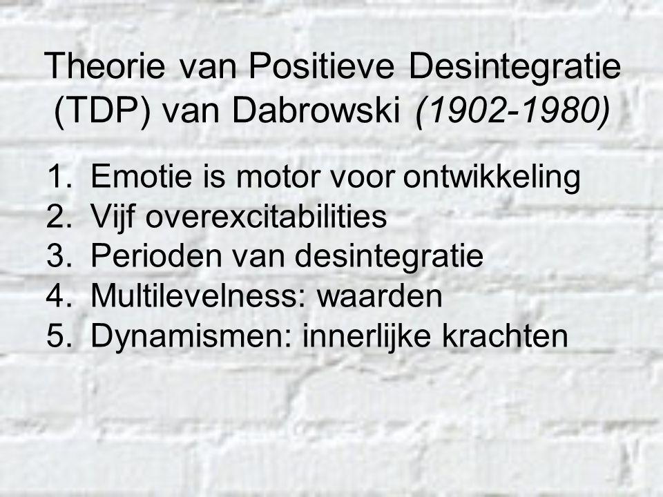 Theorie van Positieve Desintegratie (TDP) van Dabrowski (1902-1980)