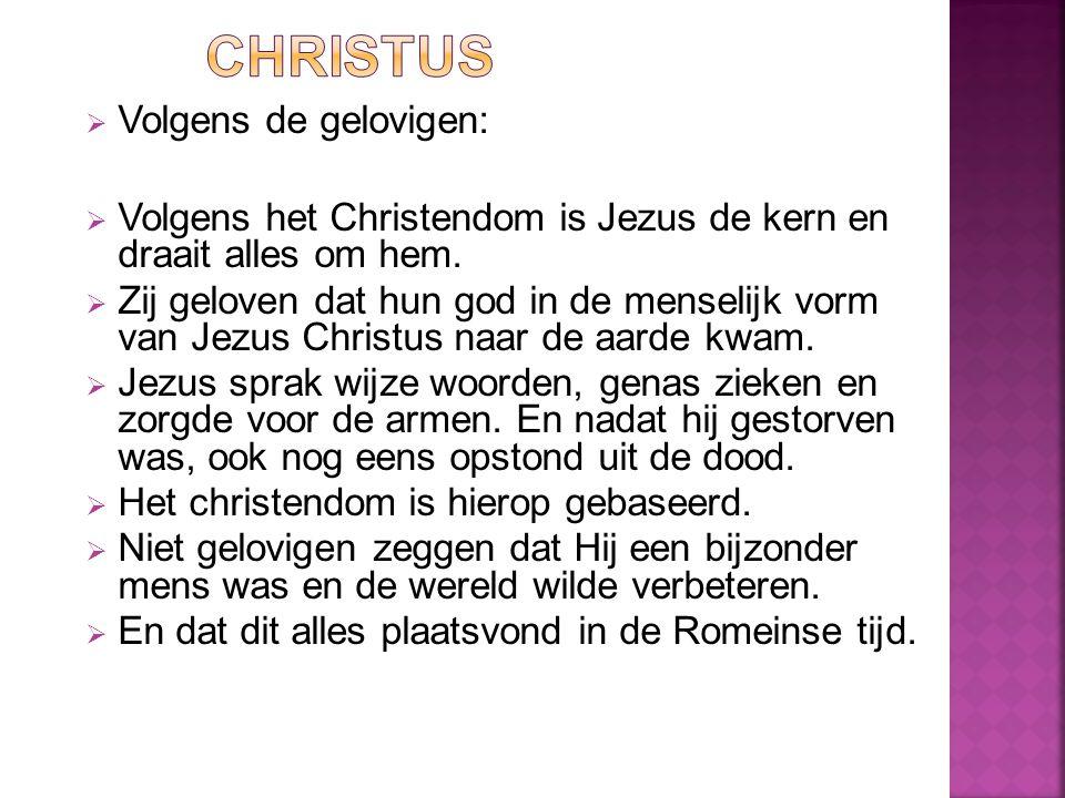 Christus Volgens de gelovigen: