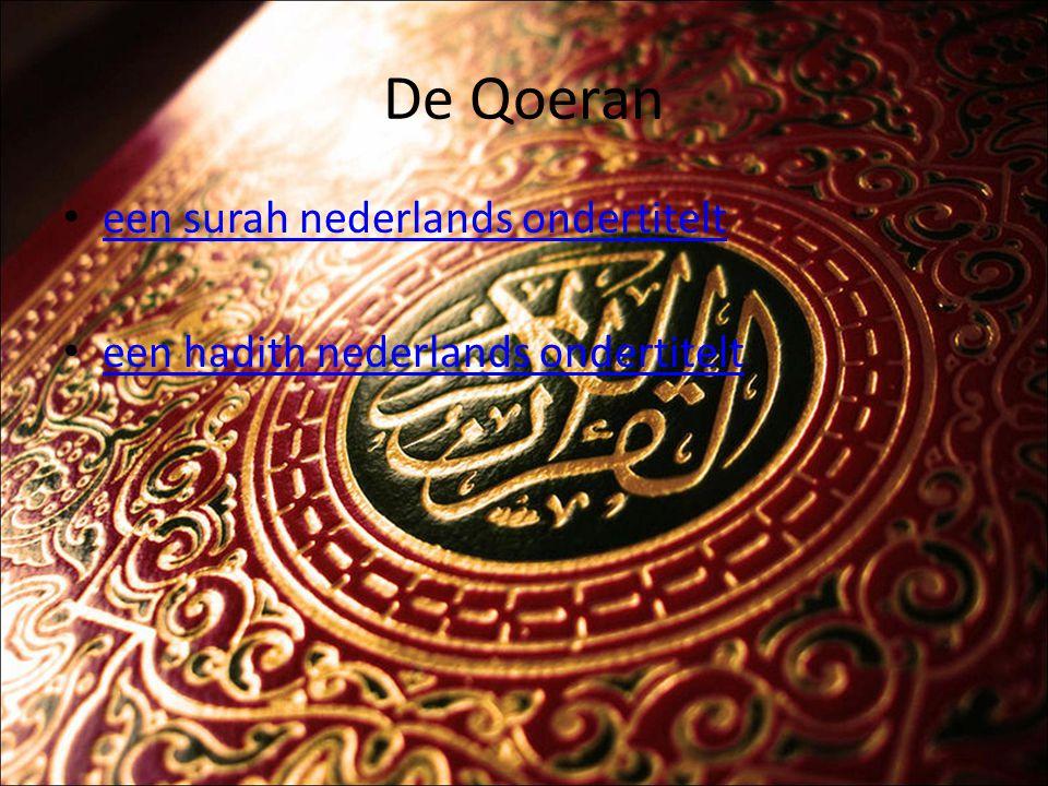 De Qoeran een surah nederlands ondertitelt
