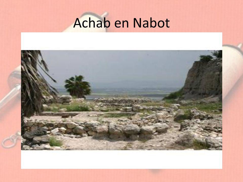 Achab en Nabot