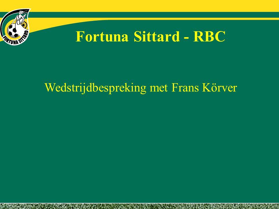 Wedstrijdbespreking met Frans Körver