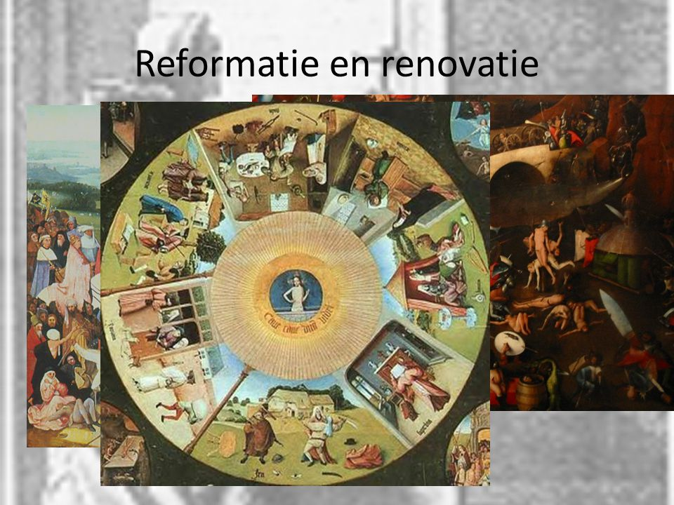 Reformatie en renovatie