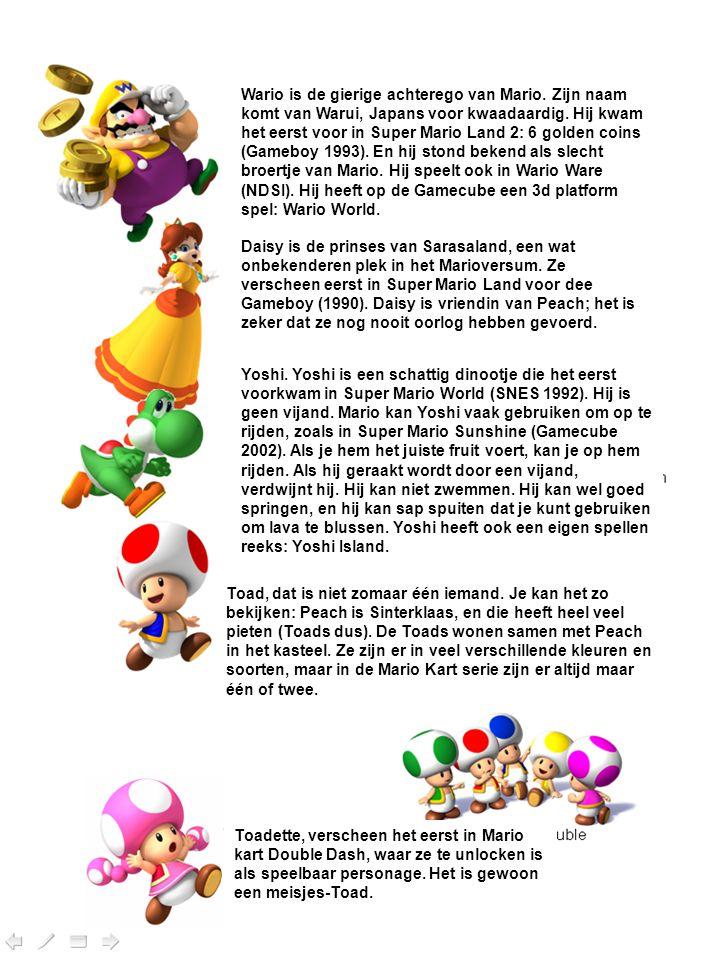 Wario is de gierige achterego van Mario