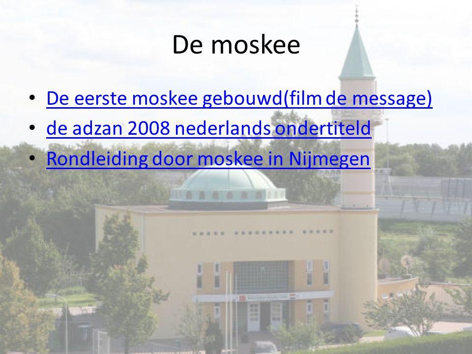 De moskee De eerste moskee gebouwd(film de message)