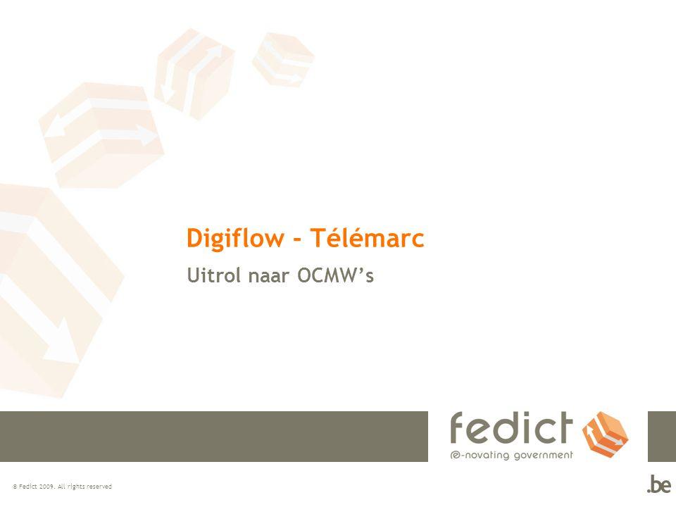 Digiflow - Télémarc Uitrol naar OCMW's