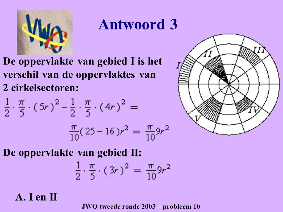 JWO tweede ronde 2003 – probleem 10