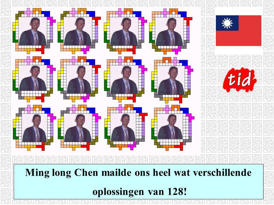 Ming long Chen mailde ons heel wat verschillende