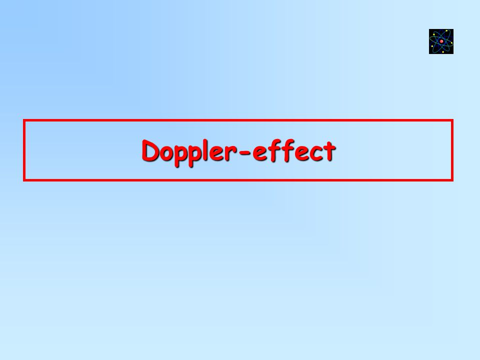 Doppler-effect