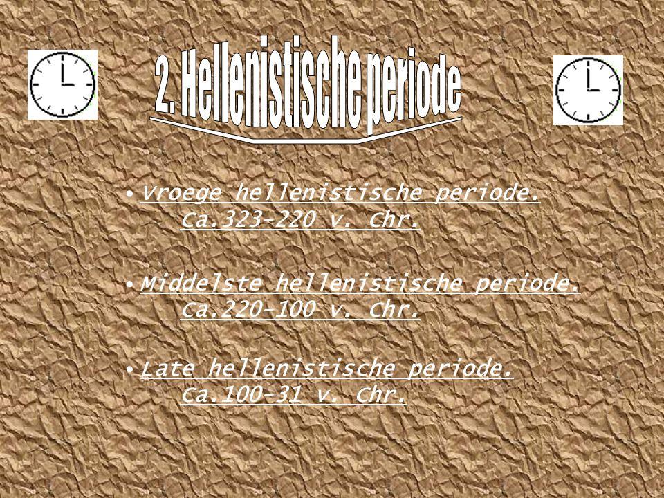 2. Hellenistische periode