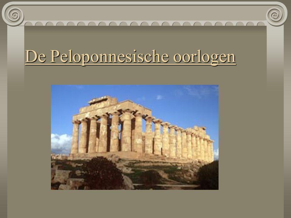 De Peloponnesische oorlogen