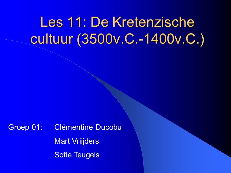 Les 11: De Kretenzische cultuur (3500v.C.-1400v.C.)