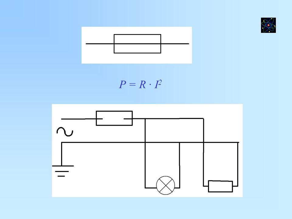 P = R · I2