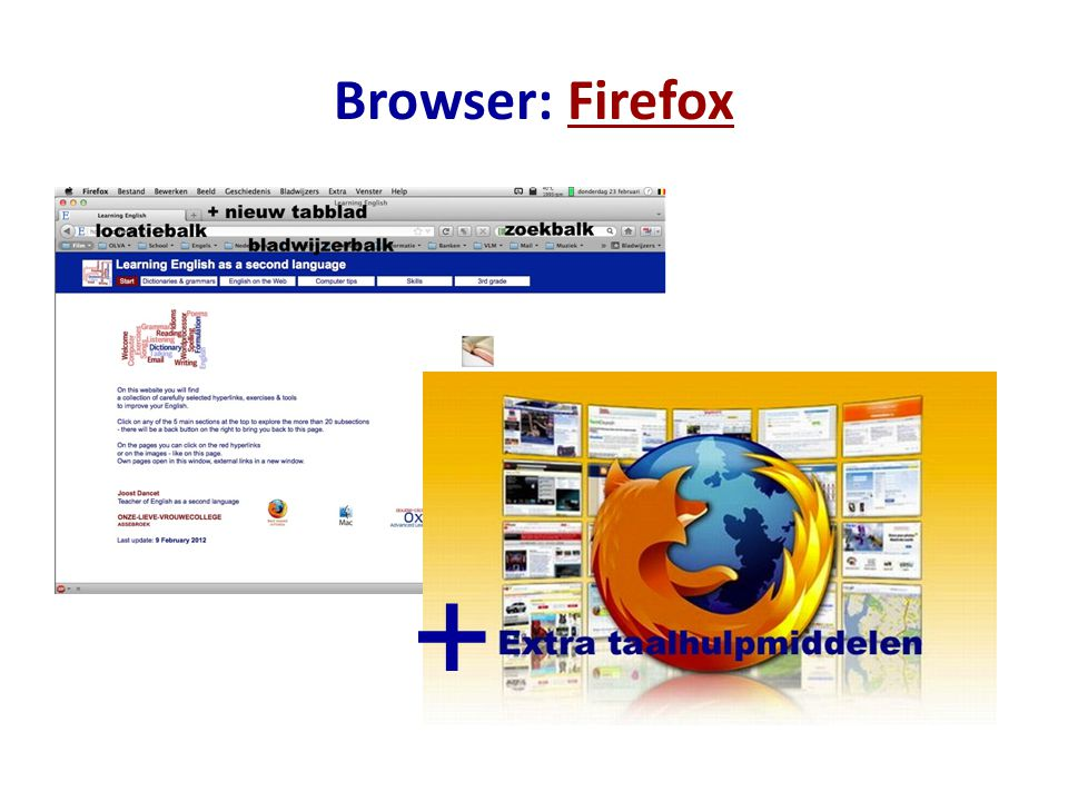 Browser: Firefox +
