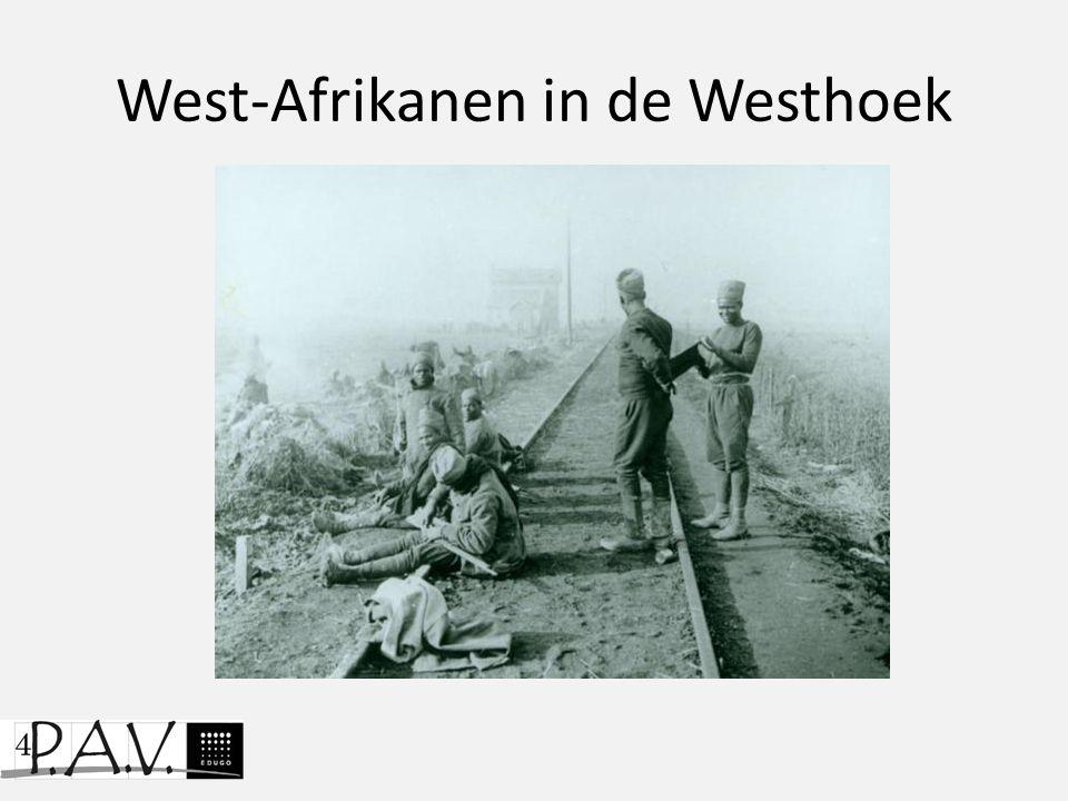 West-Afrikanen in de Westhoek