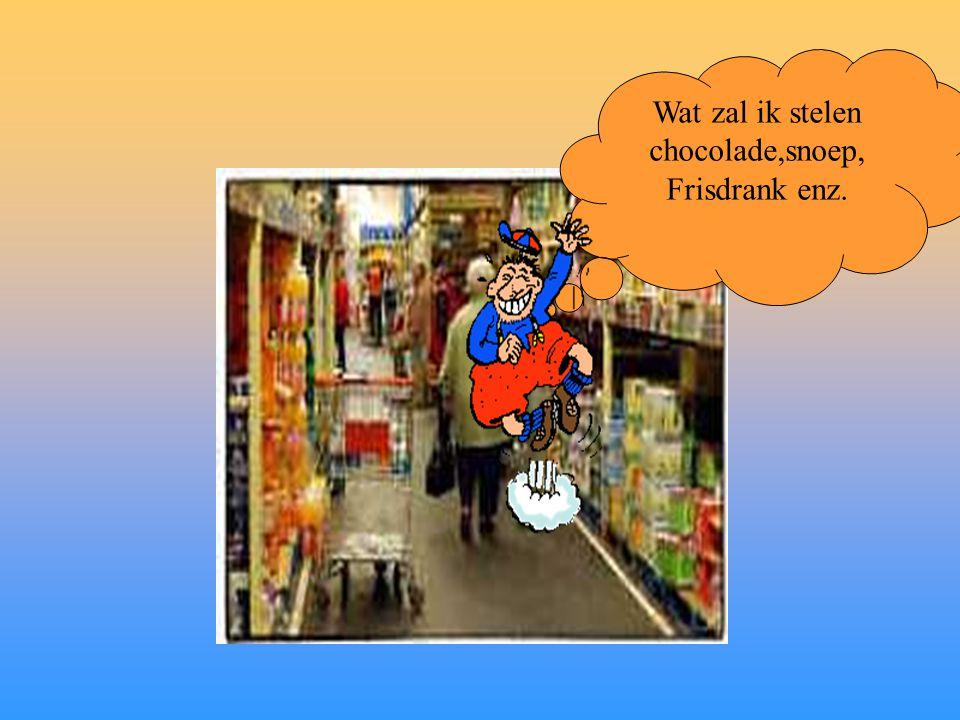 Wat zal ik stelen chocolade,snoep,