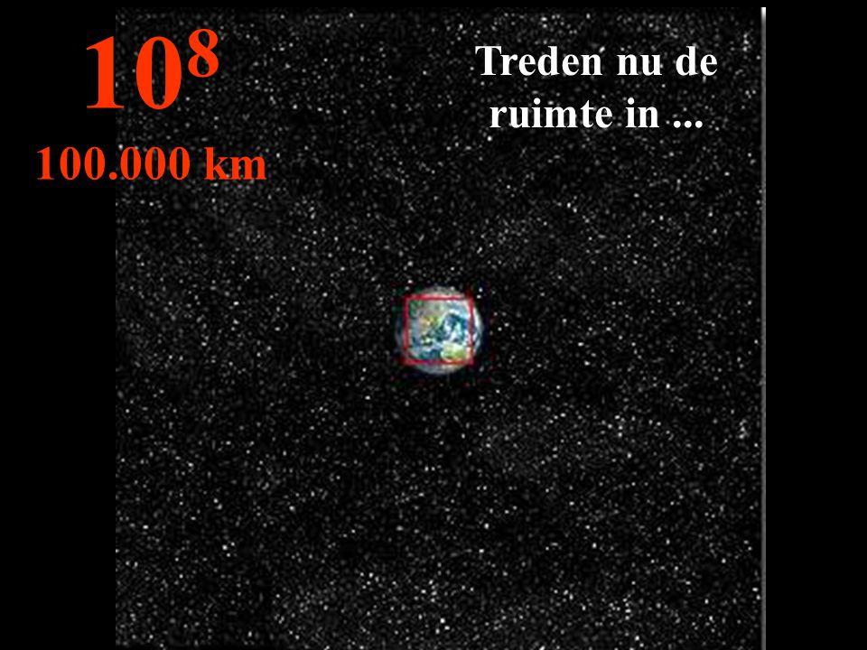108 100.000 km Treden nu de ruimte in ...