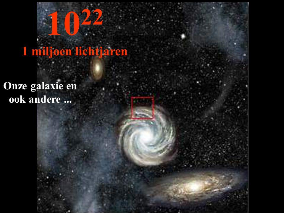 Onze galaxie en ook andere ...