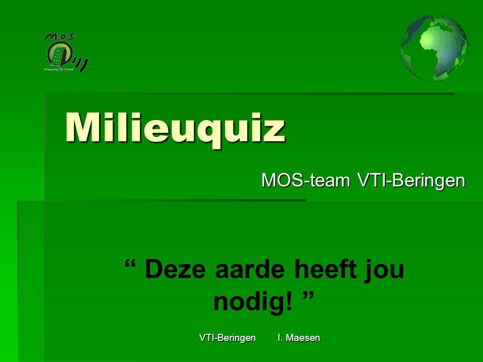 MOS-team VTI-Beringen