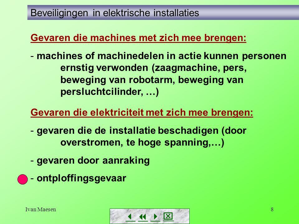 Beveiligingen in elektrische installaties