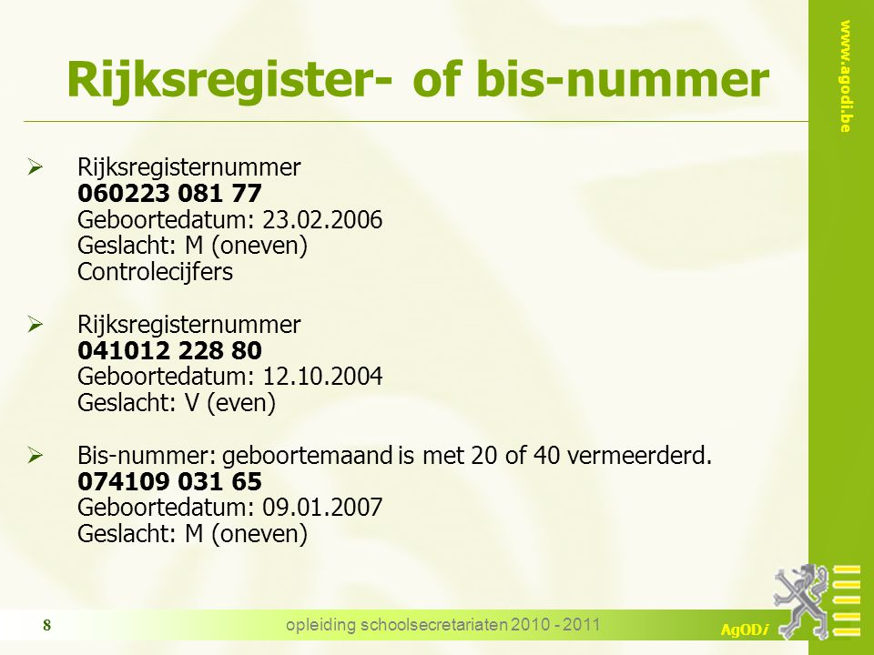 Rijksregister- of bis-nummer