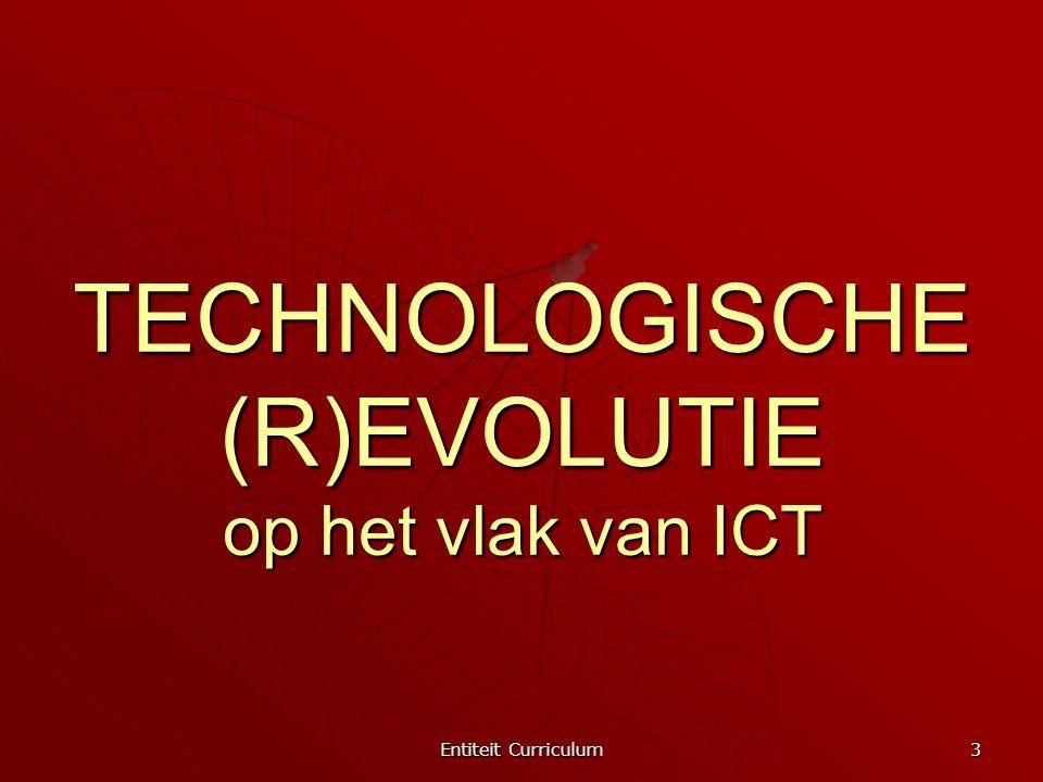 TECHNOLOGISCHE (R)EVOLUTIE op het vlak van ICT