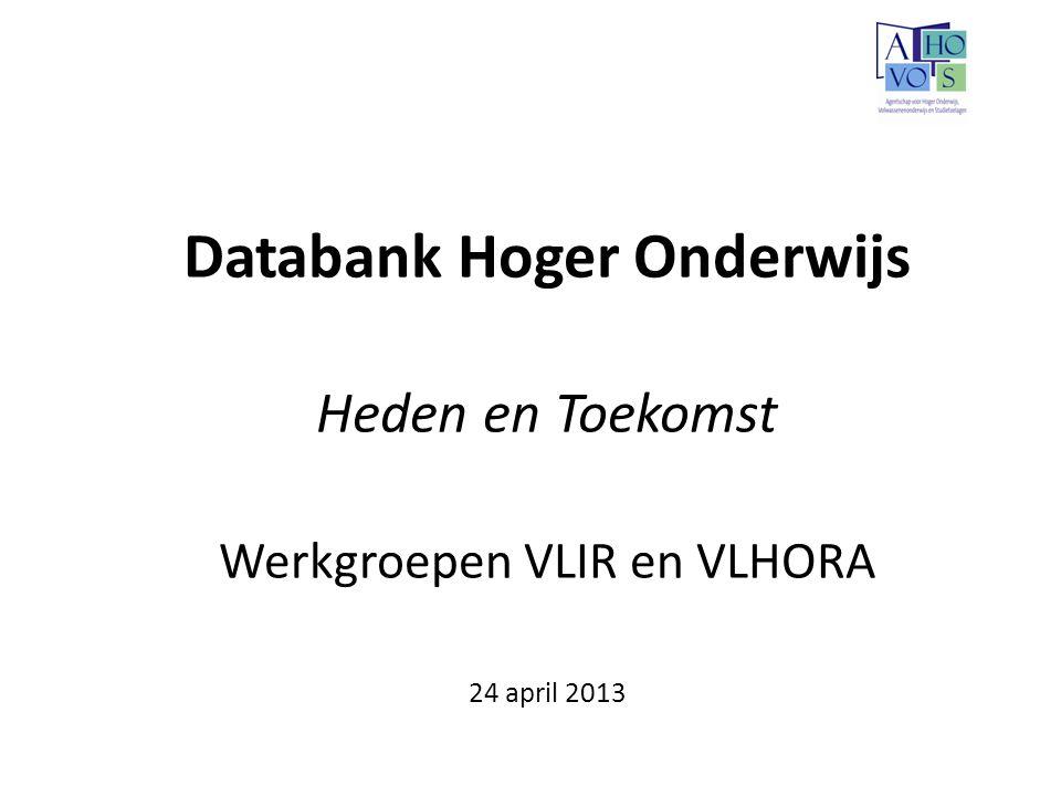 Databank Hoger Onderwijs