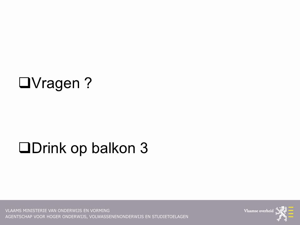 Vragen Drink op balkon 3